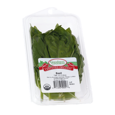 Goodness Greeness Basil Herbs - Organic