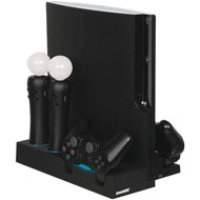 DreamGear Power Stand for PS3 Slim and PS3 Move