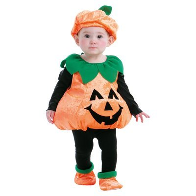 Totally Ghoul Pumpkin Vest Toddler Halloween Costume - HANDERSON HANDICRAFT MFG CO