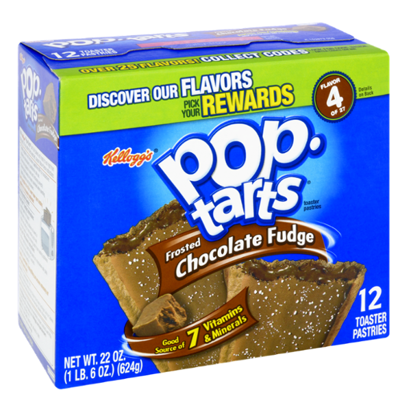 Kellogg's Pop-Tarts, Frosted Chocolate Fudge