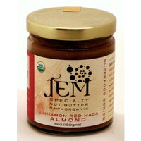 Jem Raw Organics Jem Raw, Vegan, Organic Cinnamon Red Maca Almond Butter Spread 6 oz