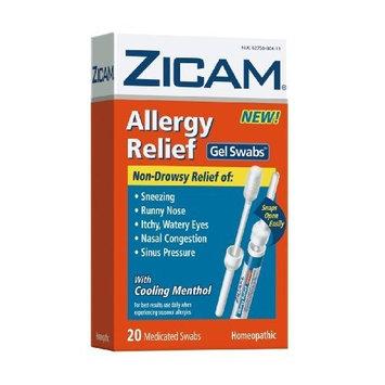 Zicam Allergy Relief Gel Swabs, 20-Count Box
