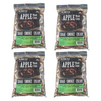Mr. Bar-B-Q - Apple Wood Chips - 4 Bag Super Pack