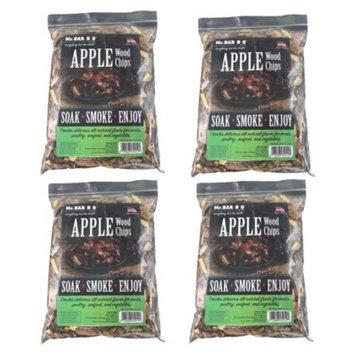 Mr. Bar-B-Q - Apple Wood Chips - 4 Bag Super Pack
