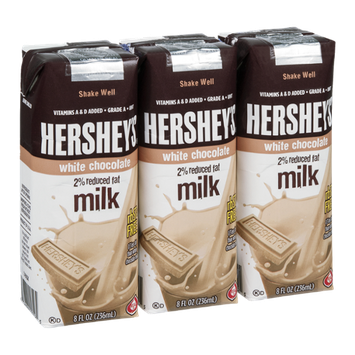 Hershey's 2% Reduced Fat Milk White Chocolate - 3 CT