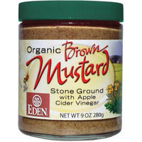 Eden Organic Brown Mustard, 9 oz, (Pack of 3)