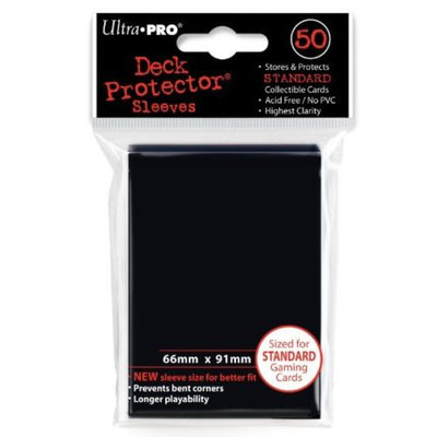 Ultra Pro New Standard Black Card Sleeves