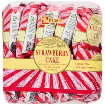 Jfc International Inc. Regent: Strawberry Cake, 10 ct