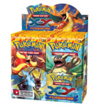 Pokemon Company International Pokemon Trading Card Game XY2 FlashFire Booster Box