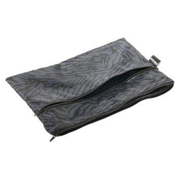 Nixi by Bumkins Recycled Fabric Poco Waterproof Diaper Clutch - Flint