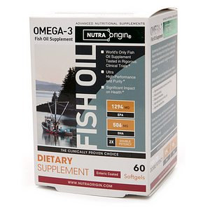 NutraOrigin Omega-3 Double Potency Fish Oil