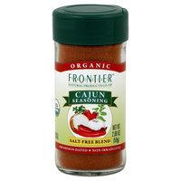Cajun Organic Seasoning Blend - Salt Free Seasoning, 2.08 oz,(Frontier)