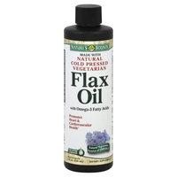Nature's Bounty Flax Oil, Fast Acting Liquid - 8 fl oz