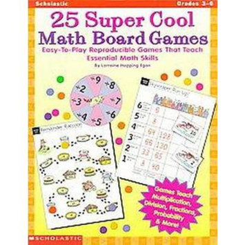 25 Super Cool Math Board Games (Paperback)