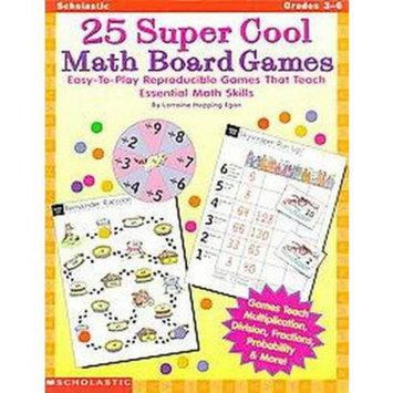 25 Super Cool Math Board Games (Paperback)
