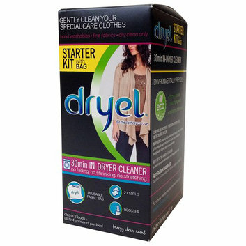 Dryel 30-Minute In-Dryer Cleaner Starter Kit with Bag
