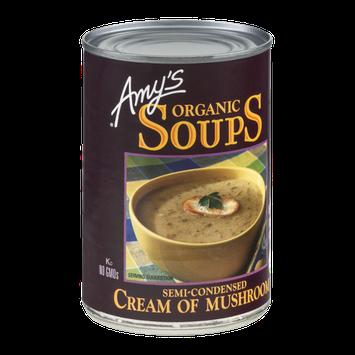 Amy's Organic Soups Cream Of Mushroom Semi-Condensed
