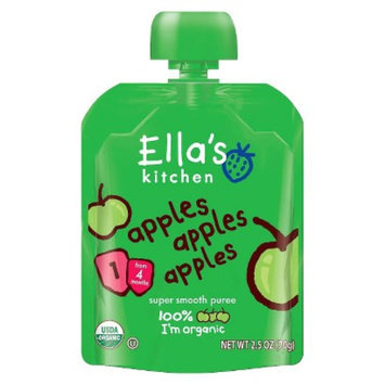 Ella's Kitchen Organic Pureed Baby Food Pouch - Stage 1 Apples Apples