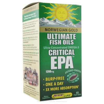 Renew Life Critical Epa, 60-Count [Health and Beauty]