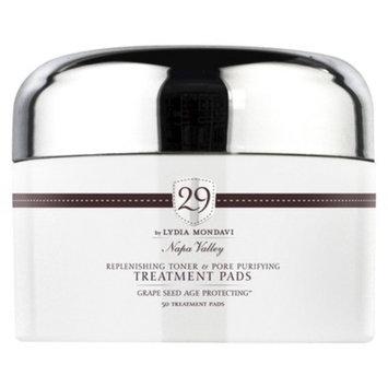 29 by Lydia Mondavi 29 Replenishing Toner & Pore Purifying Treatment Pads - 50 pads