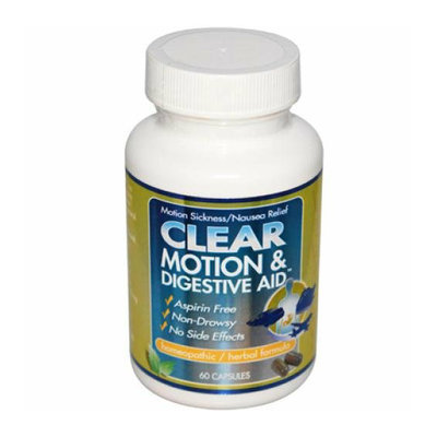 Clear Products Clear Motion and Digestive Aid 60 Capsules