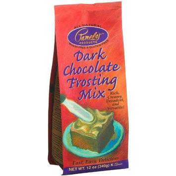 Pamela's Products Pamela's Dark Chocolate Frosting Mix Gluten Free ( 6x12 OZ)