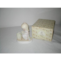 Enesco Designed Giftware Precious Moments Figurine ~ May Your Christmas Be Blessed #E-5376