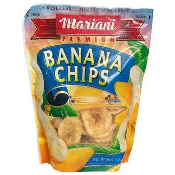 Mariani Banana Chips, 6-Ounce Units (Pack of 12)