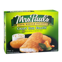 Mrs. Paul's Fish Fillets Crispy - 10 CT