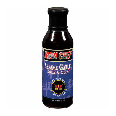 Iron Chef : Sauce & Glaze Sesame Garlic