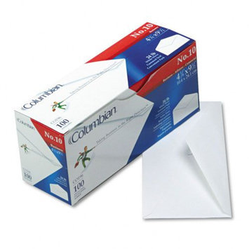 Columbian Gummed White Flap Business Envelope, Available in Multiple Sizes