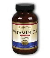 Vitamin D 2000 IU LifeTime 120 Softgel
