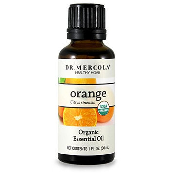 Dr Mercola Organic Orange Essential Oil - 30ml