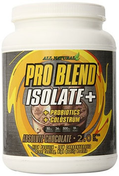 ProBlend Nutrition - ProBlend Isolate Absolute Chocolate - 2 lbs.