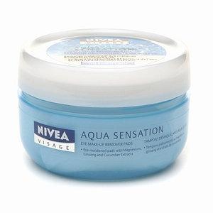 NIVEA Visage Aqua Sensation Eye Makeup Remover Pads