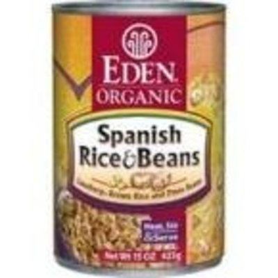 Eden Foods Organic Spanish Rice and Pinto Beans -- 15 oz