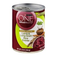 Purina One Smartblend Adult Dog Food Lamb & Long Grain Rice Entree