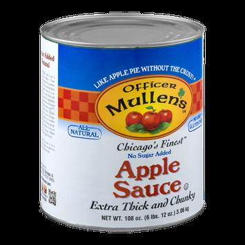 Officer Mullen's Chicago's Finest Apple Sauce No Sugar Added