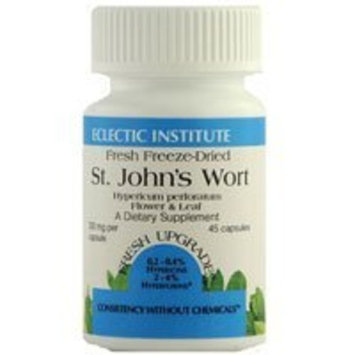 St. John's Wort 300mg Freeze-Dried Eclectic Institute 75 VCaps