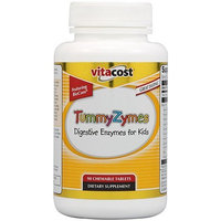 Vitacost Brand Vitacost TummyZymes Featuring BioCore -- 90 Chewable Tablets
