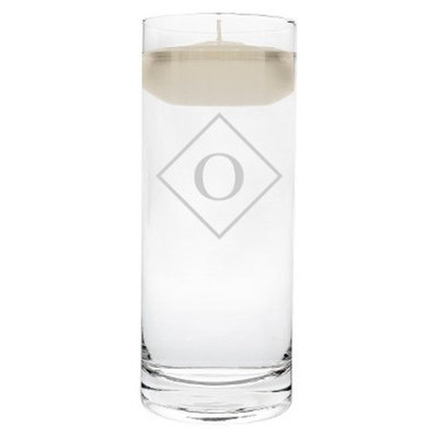 Cathy's Concepts Diamond Initial Floating Unity Candle O
