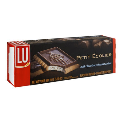LU Petite Ecolier Milk Chocolate European Biscuits