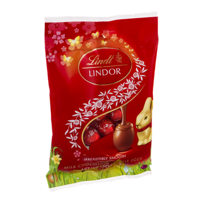 Lindt Lindor Truffle Eggs Milk Chocolate