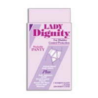 Lady Dignity Brief Plus Panty, Extra Large - 1 Box