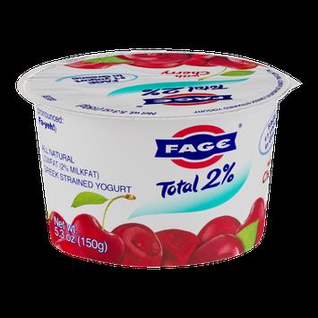 Fage Total 2% Lowfat Greek Strained Yogurt with Cherry