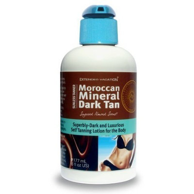 Extended Vacation Moroccan Mineral - Dark Self-Tanning Lotion by Extended Vacation