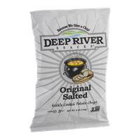 Deep River Snacks Kettle Cooked Potato Chips Original Salted