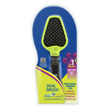 Furminator FURminatorA Dual Dog Brush