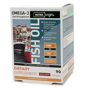 NutraOrigin Omega-3 High Potency Fish Oil