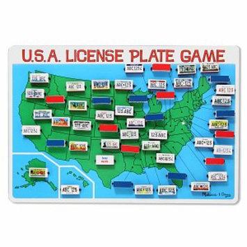 Melissa & Doug License Plate Game - As Shown